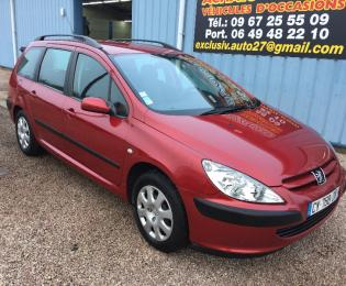 PEUGEOT 307 BREAK ESSENCE 1.6L 16V 110CV XR PRESENCE 2004