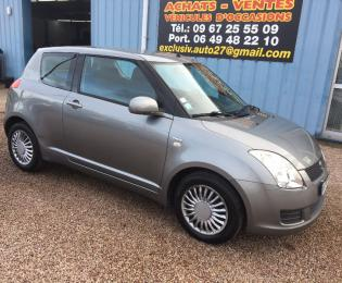 Suzuki swift 2010 1.3l ddis 75cv grise 123000 kms