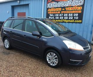 Citroen grand c4 picasso 1.6l hdi 110cv exclusive 2009