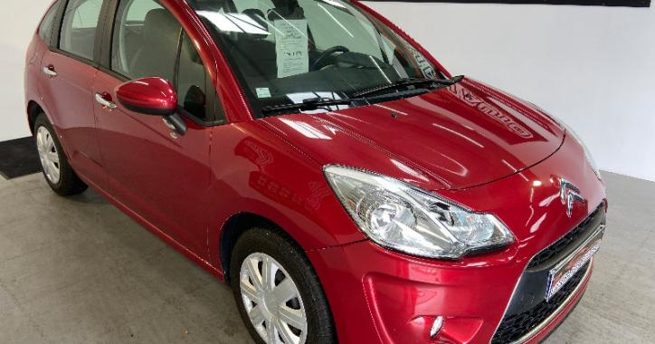 CITROEN C3 BORDEAUX 2013 1.4 L HDI 70 CV MODELE SEDUCTION 97 000KMS